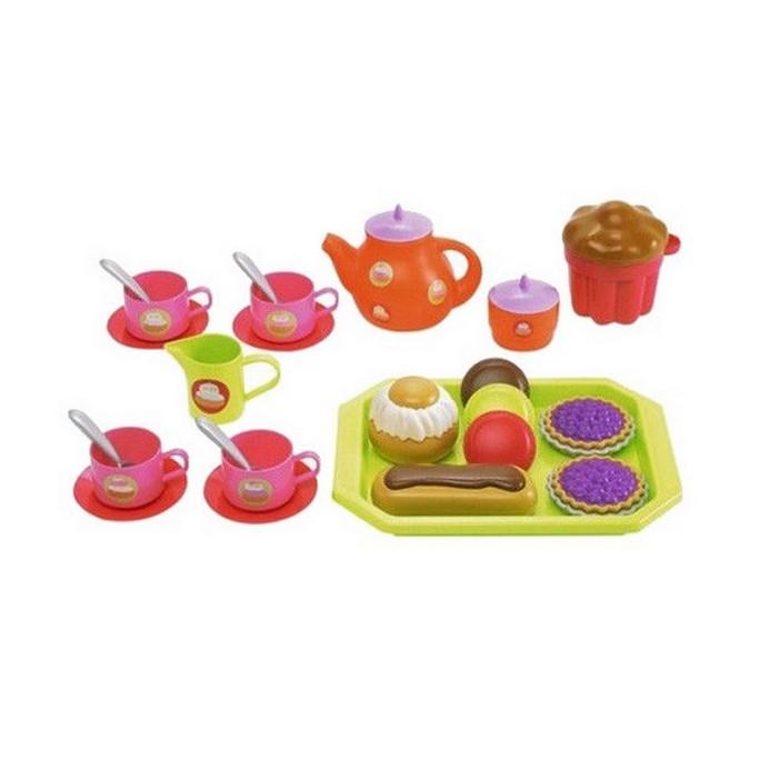 Игровой набор Ecoiffier Чайный сервиз с пирожными