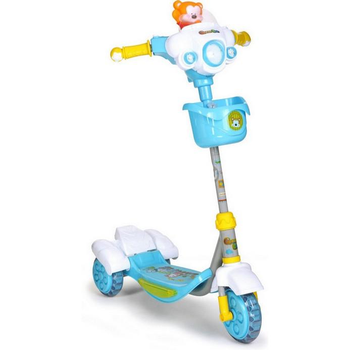 Самокат Leader Kids XG5201P голубой