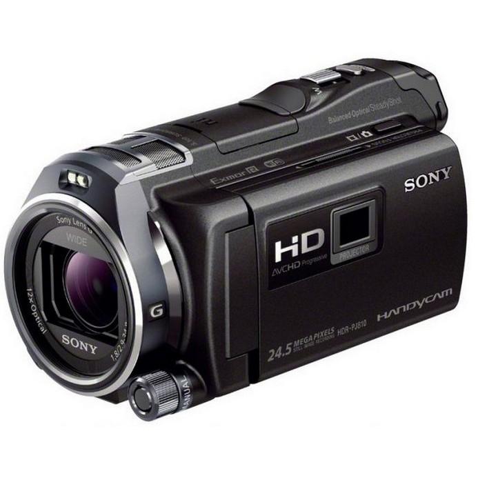 Видеокамера Sony HDR-PJ810E Black