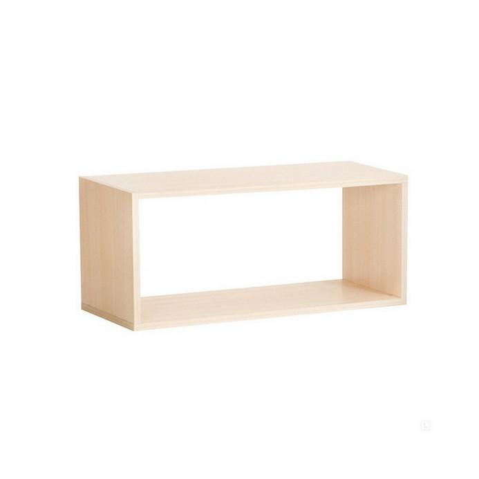 Полка Vental Кубик-2 бел.дуб