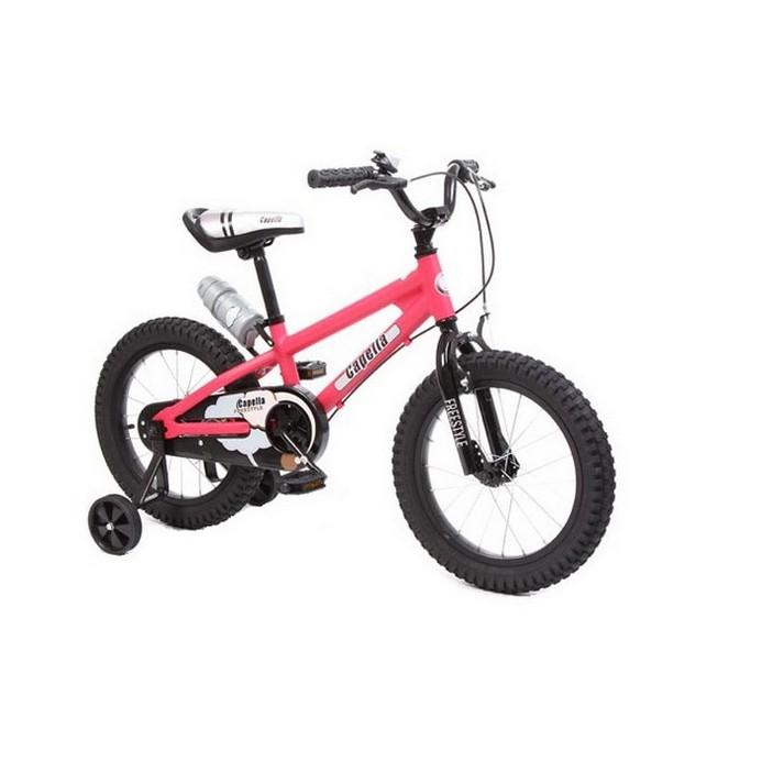 Двухколесный велосипед Capella S-16 красный