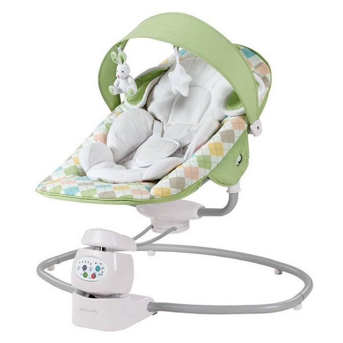 Электрокачели Happy Baby Dinki Green