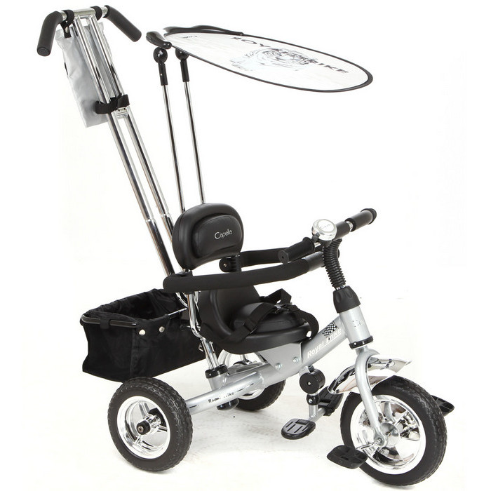 Велосипед Capella Royal Trike silver