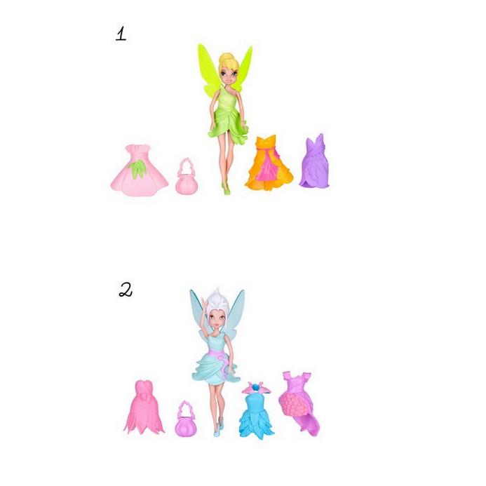Кукла Disney Fairies Фея с 3 платьями 11см (747340)
