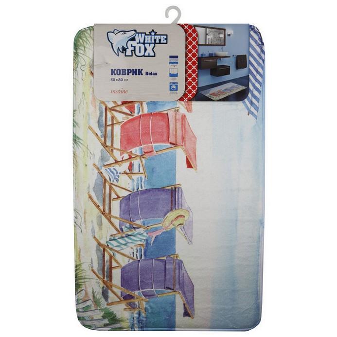 Придверный коврик White Fox Marine Relax 50x80 см