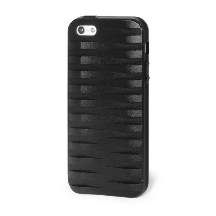 Чехол DF для iPhone 5/5S iArmorcase-01 Black + 2 пленки