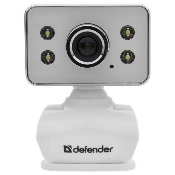 Web-камера Defender G-lens 321-I белый