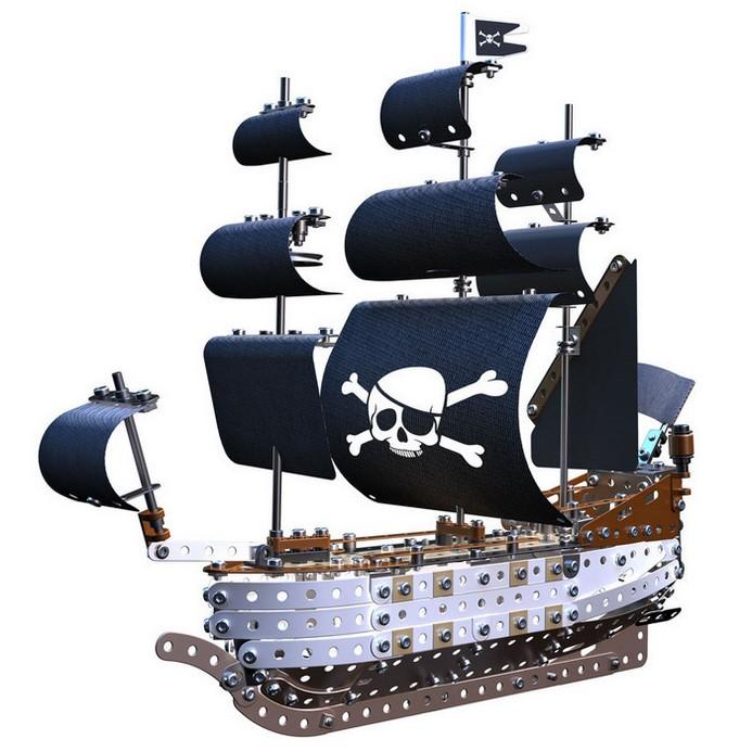 Конструктор Meccano Пиратский корабль (91781)