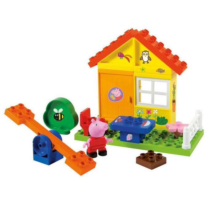 Конструктор BIG Peppa Pig летний домик