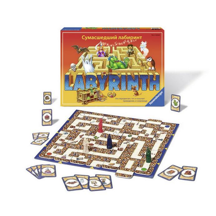 Настольная игра Ravensburger Сумасшедший Лабиринт (26582)