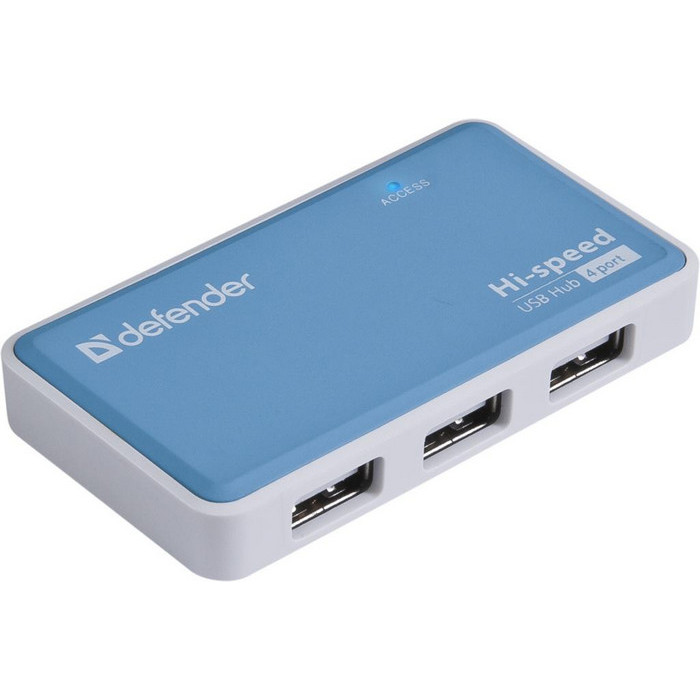 USB-хаб Defender Quadro Power (83503)