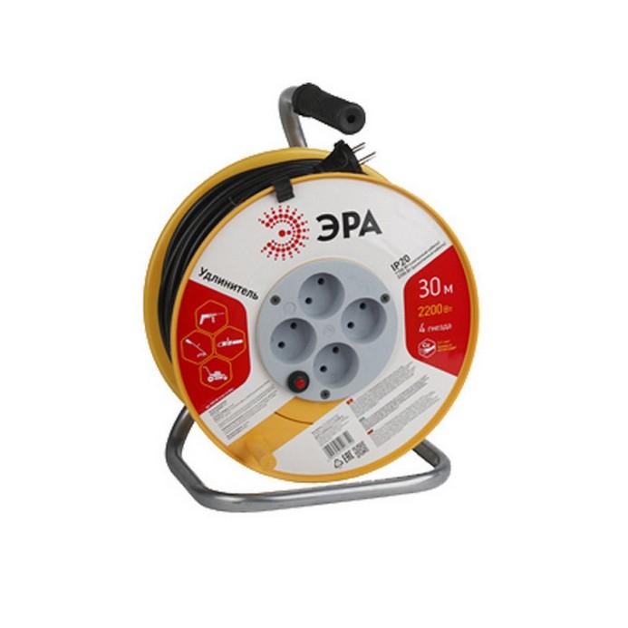 Удлинитель ЭРА RP-4-2x1.0-30m