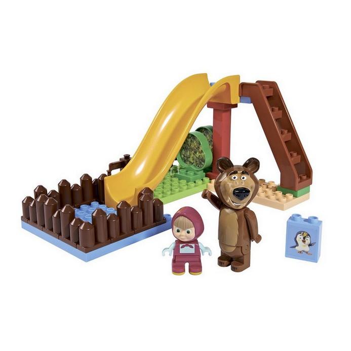 Конструктор BIG Маша и Медведь бассейн