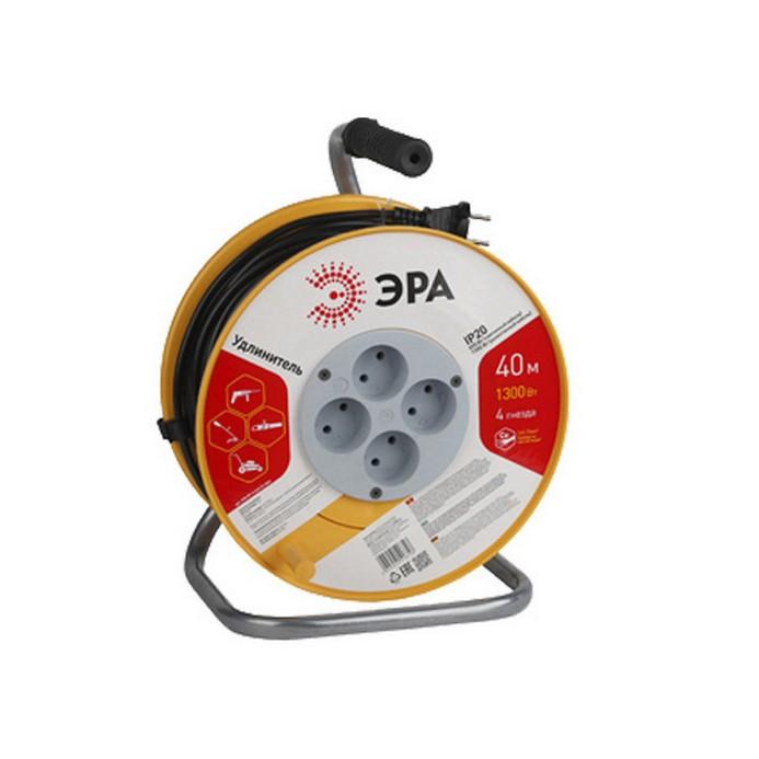 Удлинитель ЭРА RP-4-2x0.75-40m