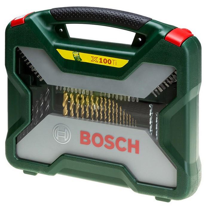 Набор Bosch 100 Titanium+(2607019330)