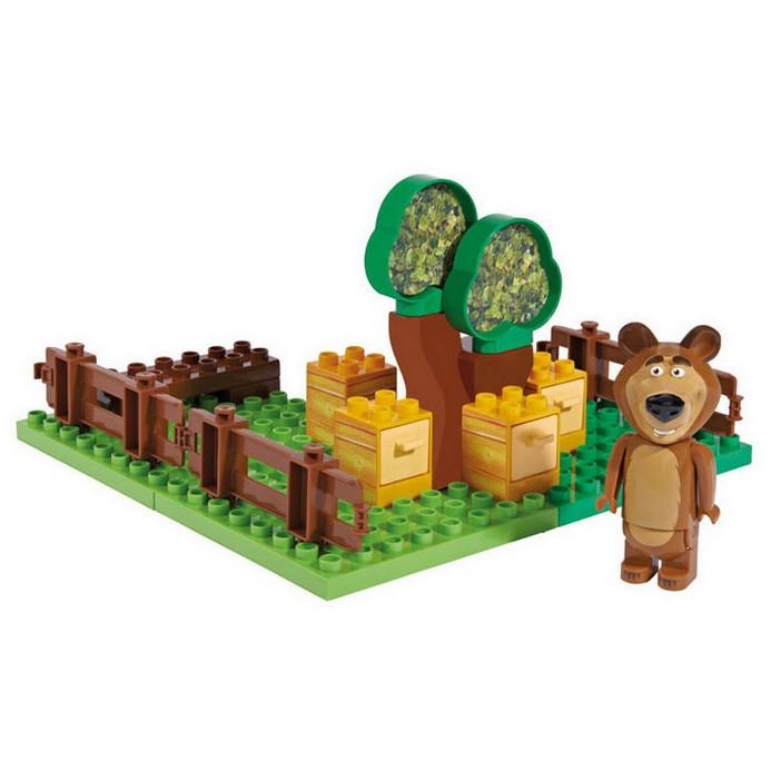 Конструктор BIG Маша и Медведь пчелиная ферма