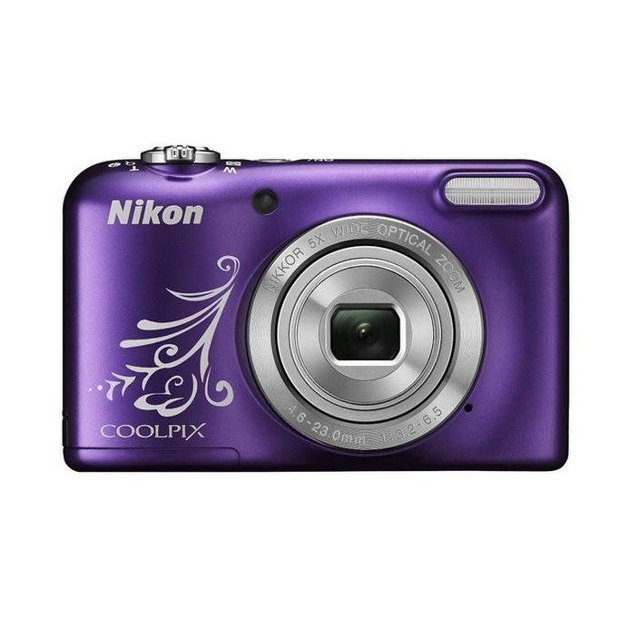 Компактный фотоаппарат Nikon CoolPix L31 фиолетовый