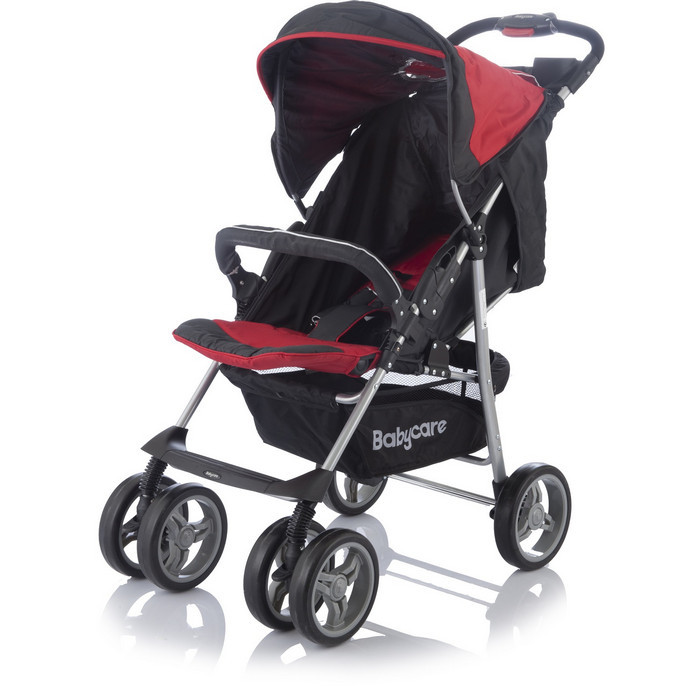 Прогулочная коляска Baby Care Voyager Red