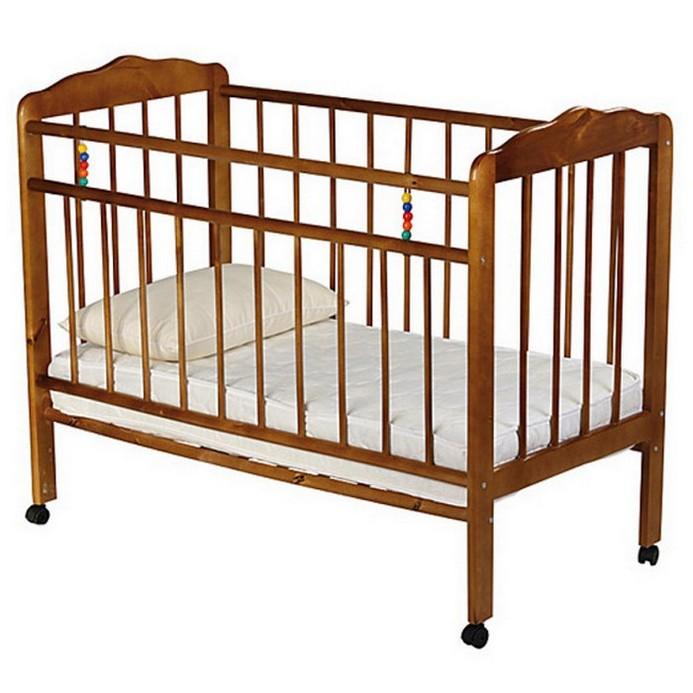 Кроватка Женечка 1 (орех)