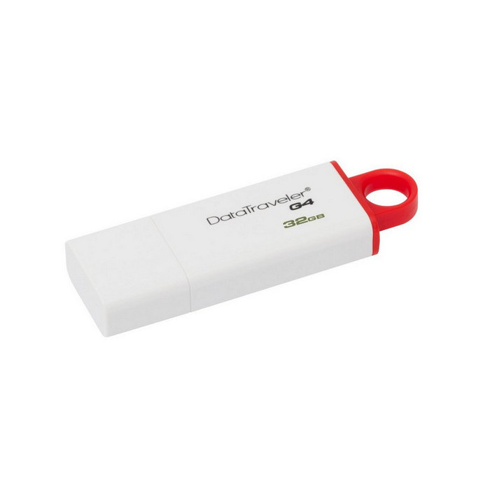 USB-флешка Kingston DataTraveler G4 32Gb White/Red