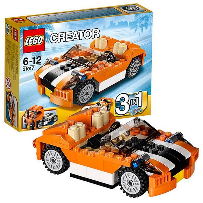 Конструктор LEGO Гоночная машина Сансет (31017)