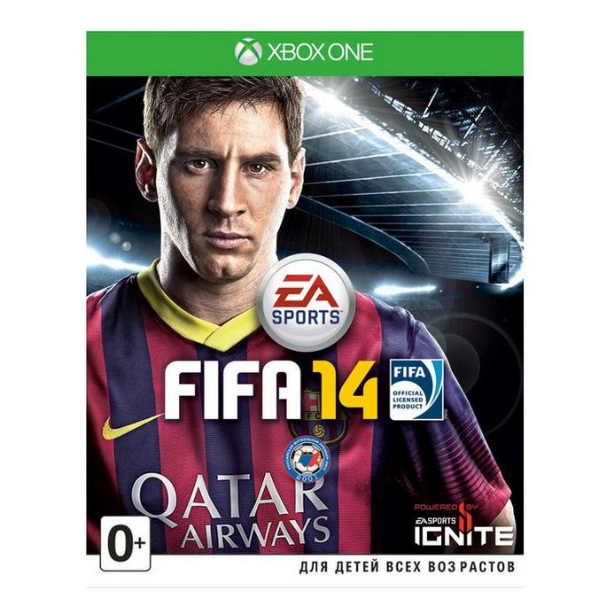 Игра для Xbox One Electronic Arts FIFA 14 (русская документация)