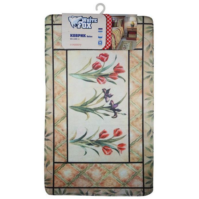 Придверный коврик White Fox Country Relax 60x100 см