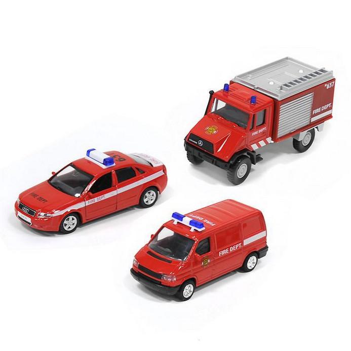 Игровой набор Welly Пожарная служба (99610-3C)