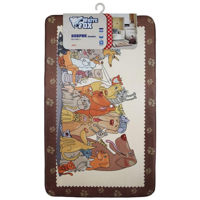 Придверный коврик White Fox Joy Comfort 60x100 см