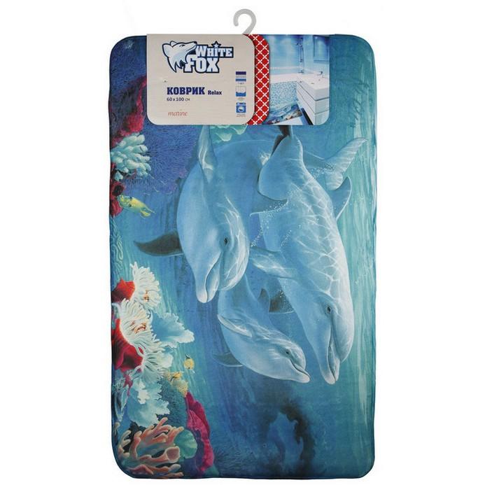 Придверный коврик White Fox Marine Relax 60x100 см