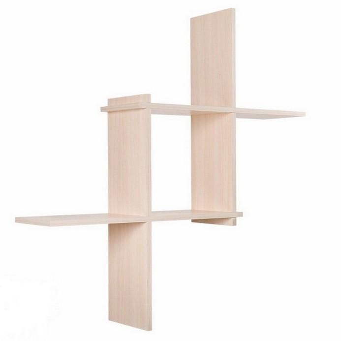Полка Vental Кубик-3 бел.дуб
