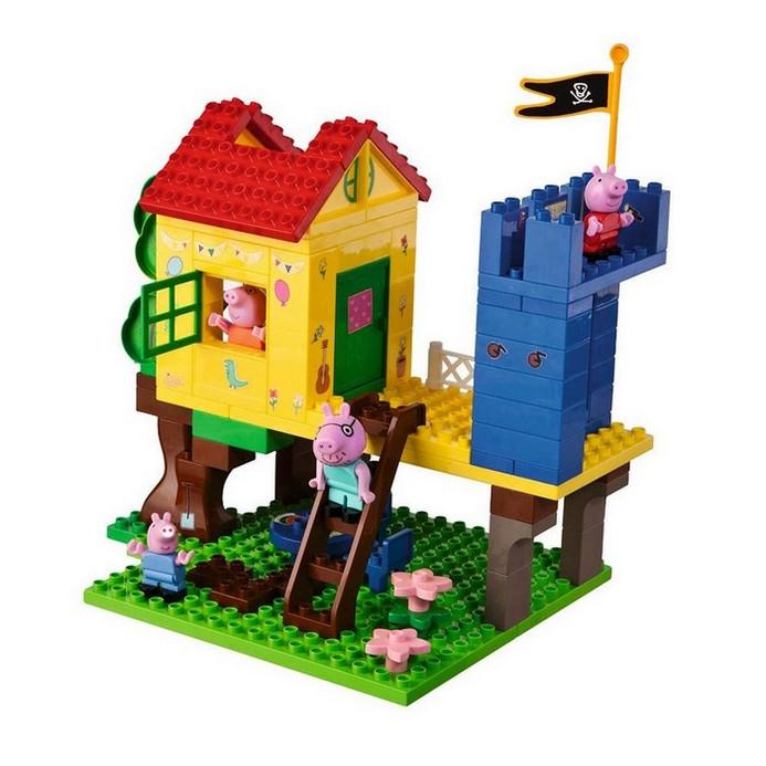 Конструктор BIG Peppa Pig дом на дереве
