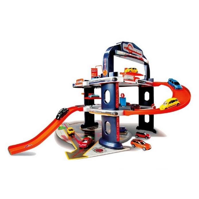 Игровой набор Majorette Городской гараж+ 1авто