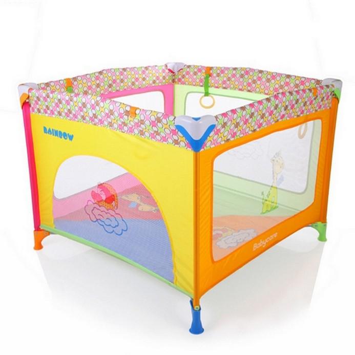 Игровой манеж Baby Care Rainbow