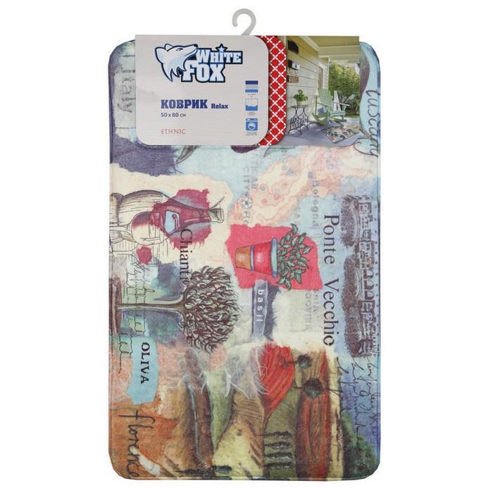 Придверный коврик White Fox Ethnic Relax 50x80 см