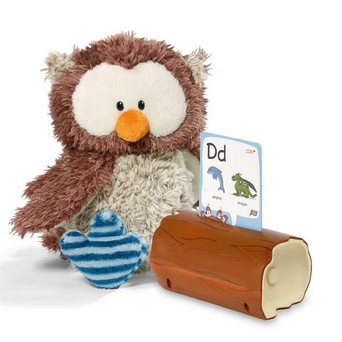 Интерактивная игрушка Nici Интерактивная сова Оскар