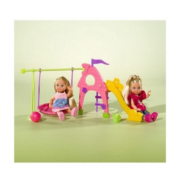 Игровой набор Simba Две Evi на детской игровой площадке