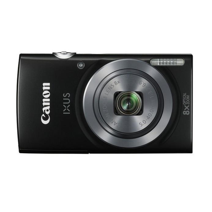 Компактный фотоаппарат Canon IXUS 160 черный