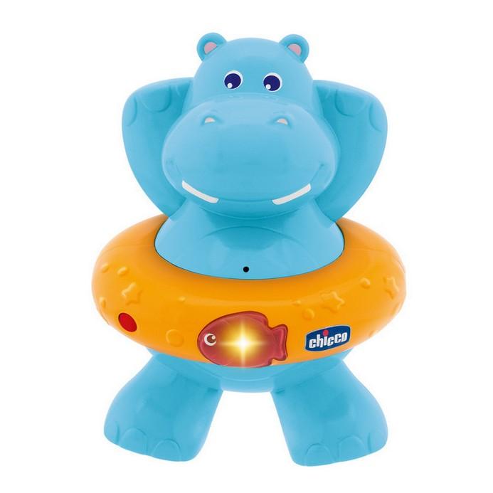 Игрушка для купания Chicco Счастливый бегемотик (70306)