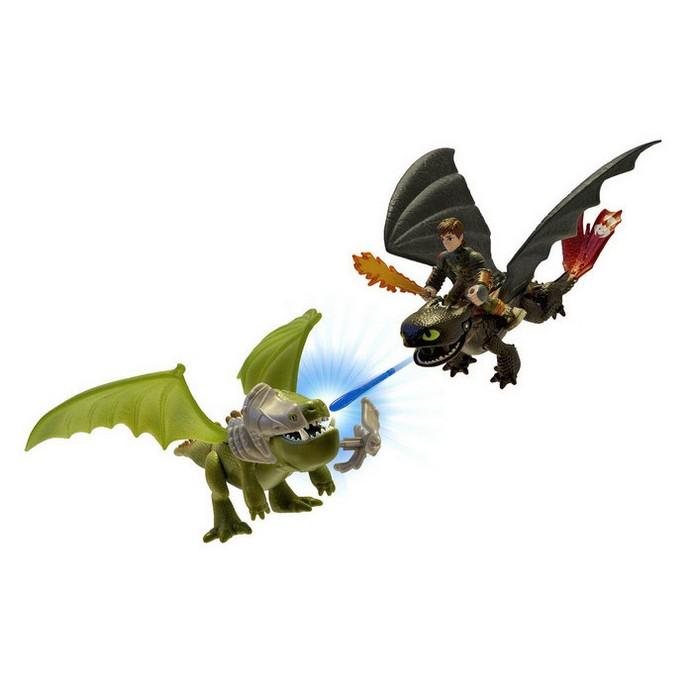 Игровой набор Dragons Беззубик и Иккинг против дракона (66599)