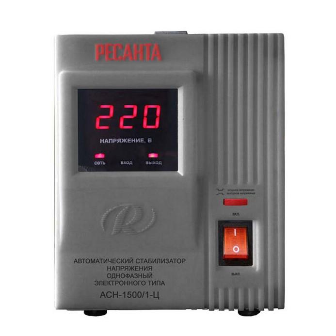 Стабилизатор Ресанта АСН-1500/1-Ц