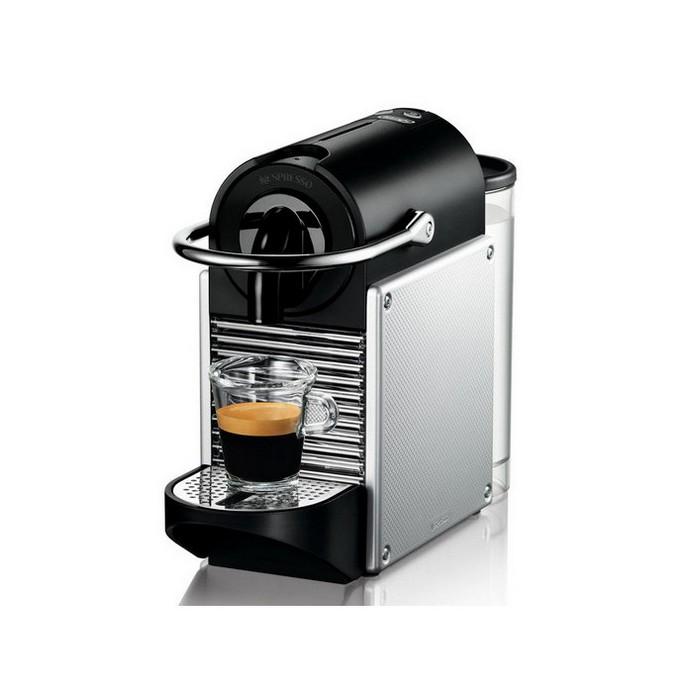 Капсульная кофеварка DeLonghi EN 125 Nespresso Silver