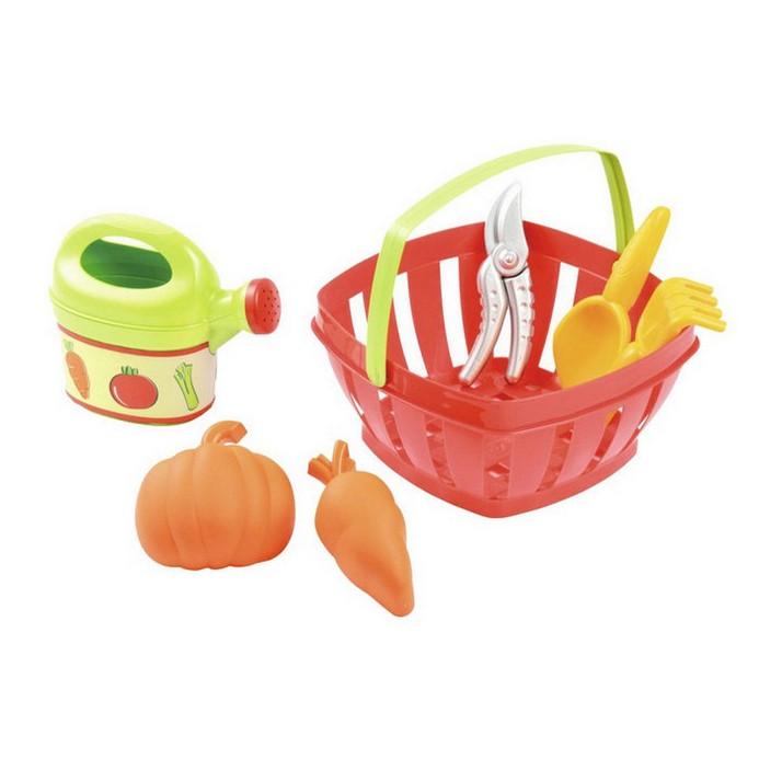 Игровой набор Ecoiffier для огорода в корзине