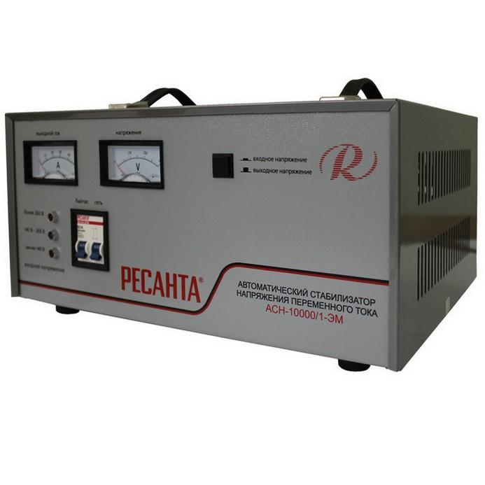 Стабилизатор Ресанта АСН-10000 Н/1-Ц
