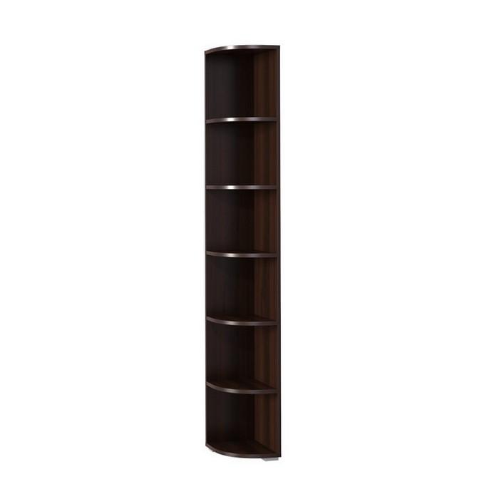 Стеллаж Мегаэлатон И-8 Индиго орех шоколадный