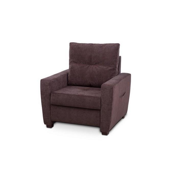 Кресло Vental Дубай Vilvet Lux 07 коричн.