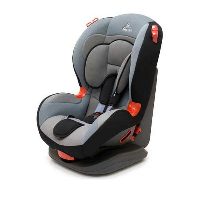 Автокресло Baby Care ES01-L4 black/grey/grey/black
