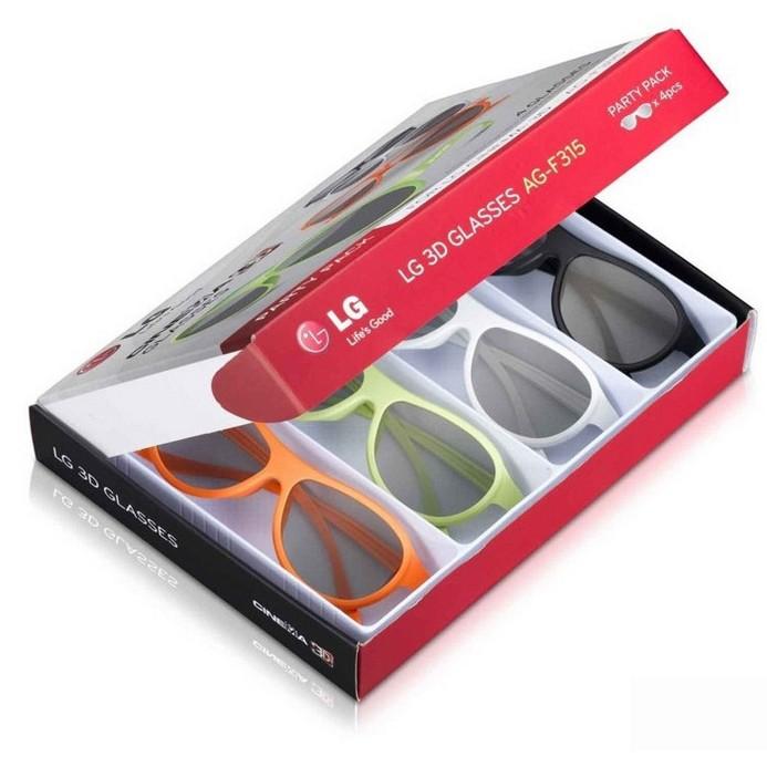 3D-очки LG LG AG-F315 (4 шт)
