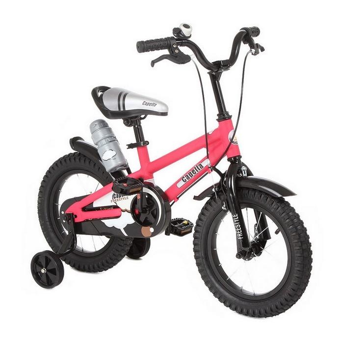 Двухколесный велосипед Capella S-14 красный