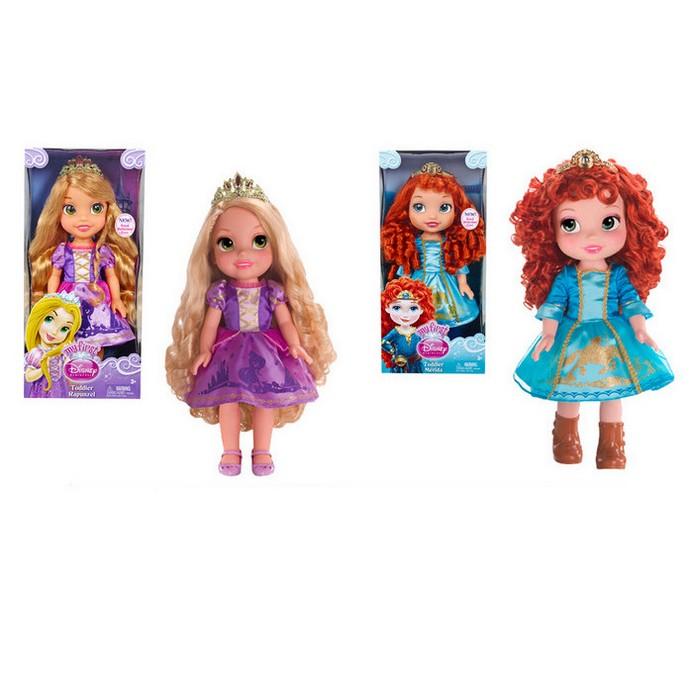 Кукла Disney Princess Рапунцель/Мерида 35см
